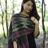 Jojoland Leaf Collection #3 Shawl in Melody PDF
