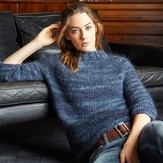 Jo Sharp Blueberry Yoke Sweater PDF