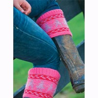 Fair Isle Boot Toppers (Free)