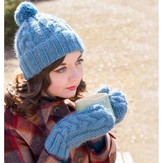 Juniper Moon Farm Smudge Hat and Mittens PDF