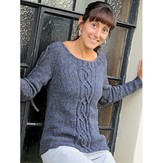 Knit One Crochet Too 2078 Erin Pullover