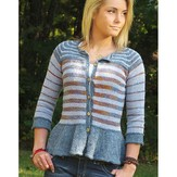 Knit One Crochet Too 2316 Pepperelle Cardi