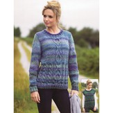 James C. Brett JB338 Sweater and Slipover