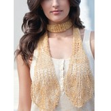 Stacy Charles Fine Yarns Elsa Lace Scarf Kit