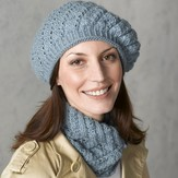 Valley Yarns 300 Tempest Beret, Gauntlets and Cowl