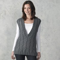 302 Smokehouse Cabled Vest