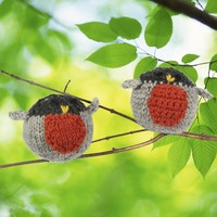 371 Crocheted Robin Kit (Free Pattern)