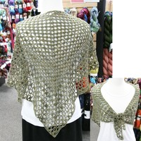 372 Iris Crocheted Shawl Kit (Free Pattern)