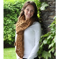 382 Lobed Leaf Scarf Kit