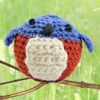 401 Crocheted Bluebird Kit (Free Pattern)