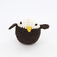 411 Crocheted Bald Eagle Kit (Free Pattern)