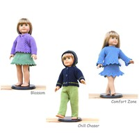 "18"" Doll Sweaters: Collection Three"