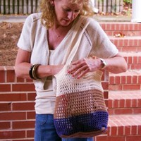 3184 Crochet California Market Bag