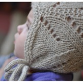 Knitting School Dropout Crooked Little Baby Bonnet PDF
