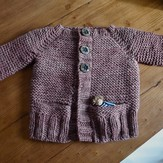 Knitting School Dropout Little Hiker's Cardigan PDF