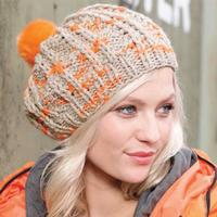 Ladies´ Pompom Hat A (Free)