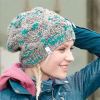 Woman's Cap with Cable (Free)