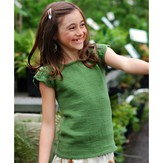 Never Not Knitting Spring Garden Tee - Child Sizes PDF