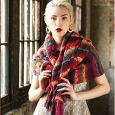 Noro Diamond Lace Wrap PDF