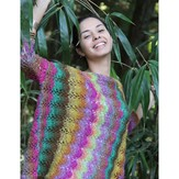 Noro Ladies Sweater (Silk Garden Lite) PDF