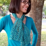 Linda Permann Diamond Lace Scarf PDF
