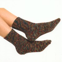 1475 Seed Ribbed Socks
