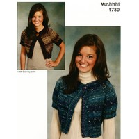 1780 Top Down Cropped Cardigan