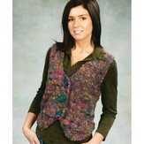 Plymouth Yarn 1904 Cropped Vest
