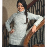 Plymouth Yarn 2077 Top Down Raglan Tunic