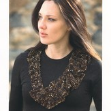 Plymouth Yarn 2188 Eros II Ridged Necklace