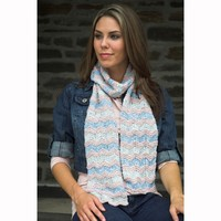 2530 Chevron Stripe Scarf