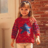 Plymouth Yarn 2641 Kid's Star Pullover
