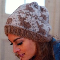 2742 Fairisle Bunny Hat