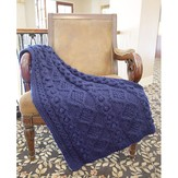 Plymouth Yarn 2866 Aran Throws