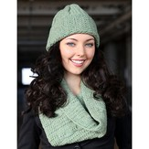 Plymouth Yarn 3034 Hat & Cowl Set