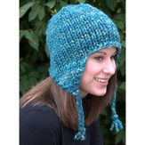 Plymouth Yarn F583 Earflap Hat (Free)