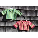 PollyMacc Designs Brother/Sister Infant Sweaters