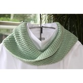 PollyMacc Designs Short Ribbed Cowl