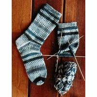 242 Beginner's Mid-weight Socks