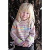 Knitting Pure & Simple 9730 Children's Neckdown Pullover
