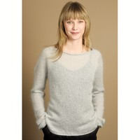 Silk Cloud Pullover