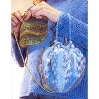 Traveling Knitter's Yarn Pouch