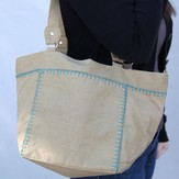 Lantern Moon Square Canvas Clip Bag