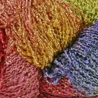 Starburst Rayon Bouclé Flower of the Month
