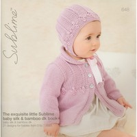 648 The Exquisite Little Sublime Baby Silk & Bamboo DK Book
