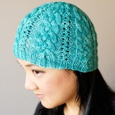 SweetGeorgia Creekside Cables Hat PDF