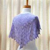 SweetGeorgia Lilac Leaves Shawl PDF