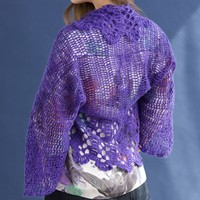 On My Own Crochet Lace Shrug PDF