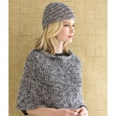 Stacy Charles Fine Yarns Amelie Capelet and Hat PDF