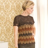 Stacy Charles Fine Yarns Genevieve Bargello Tee PDF